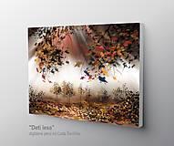 Obrazy - Deti lesa - 10172390_