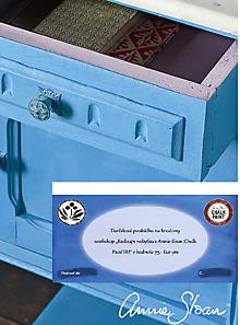 Darčekové poukážky - Darčeková poukážka na Workshop Redizajn nábytku s Annie Sloan Chalk PaintTM - 10173887_
