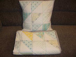 Textil - Deka + obliečka na vankúš - 10169333_