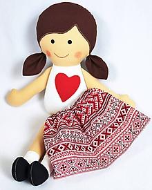Hračky - Sukienka pre bábiky - 10170062_