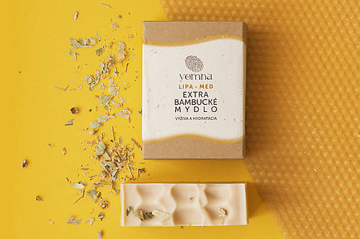 Lipa-Med extra bambucké mydlo