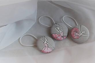 Detské doplnky - Buttonková baletka - 10169767_