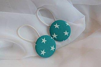 Detské doplnky - Smaragdové hviezdy - 10169978_