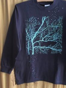 Tričká - Čo stromy kreslia, keď *sneží * - 10174444_