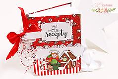 Papiernictvo - Vianočný receptár - 10178410_
