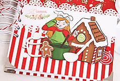 Papiernictvo - Vianočný receptár - 10178412_