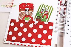 Papiernictvo - Vianočný receptár - 10178413_