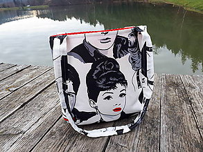 Veľké tašky - Sport Jeans bag (Retro) - 10176298_
