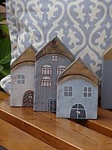 Dekorácie - Starinky - domčeky - 10174269_