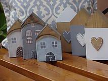 Dekorácie - Starinky - domčeky - 10174270_