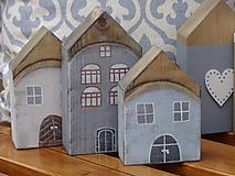 Dekorácie - Starinky - domčeky - 10174271_