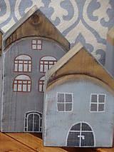 Dekorácie - Starinky - domčeky - 10174273_
