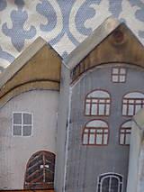 Dekorácie - Starinky - domčeky - 10174274_