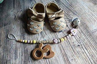 Detské doplnky - držiak na cumeľ alebo hryzátko (fialová sovička) - 10174131_