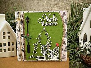 Papiernictvo - Zimná záhrada pohľadnica - 10174856_