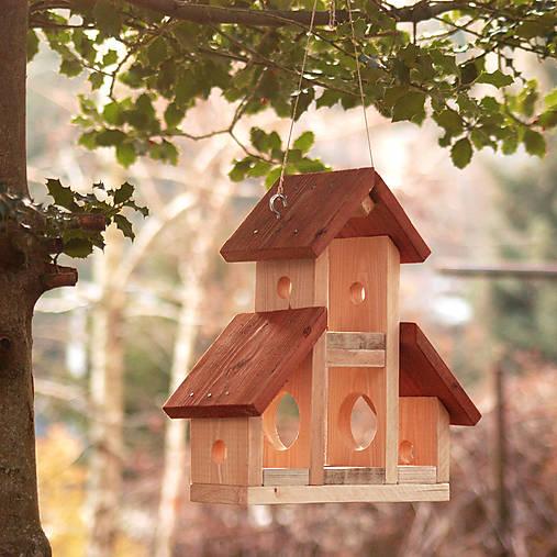 Krmítko pre vtáčiky
