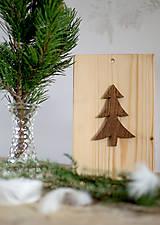 Dekorácie - Vianočný stromček 8 - 10174392_