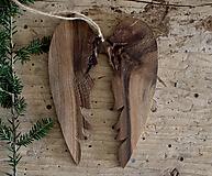 Dekorácie - veľké anjelské krídla - 10174749_