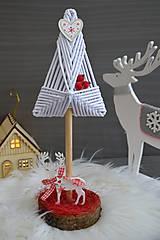 Dekorácie - vianočný stromček - 10176830_