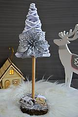 Dekorácie - vianočný stromček - 10176834_