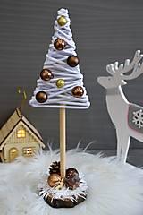 Dekorácie - vianočný stromček - 10176840_