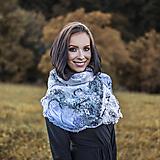 Šály - Dámsky zimný šál -