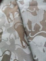 Textil - Baby Monkey CatLike Leaf - 10176942_