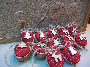 Dekorácie - Vianočne oriešky - 10177942_
