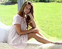 Pyžamy a župany - Lilly - nočná košeľa, hodváb, rôzne farby - 10176782_