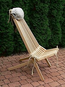 Nábytok - Zahradné relaxačné kreslo Scandi - 10178179_