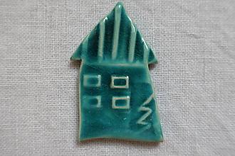 Odznaky/Brošne - Keramická brošňa - 10176384_