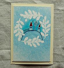 Papiernictvo - Vianočná pohľadnica - 10174160_