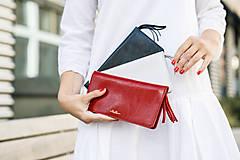 Peňaženky - Dámska kožená peňaženka veľká MARIMA  (Whiskey hnedá) - 10175313_