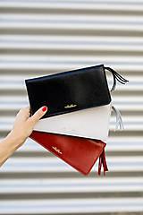 Peňaženky - Dámska kožená peňaženka veľká MARIMA  (Whiskey hnedá) - 10175315_