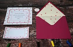 Papiernictvo - Pohľadnica - Milujem ťa celú... - 10174795_