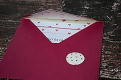Papiernictvo - Pohľadnica - Milujem ťa celú... - 10174802_