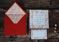 Papiernictvo - Pohľadnica - Záleží mi na tebe... - 10174816_