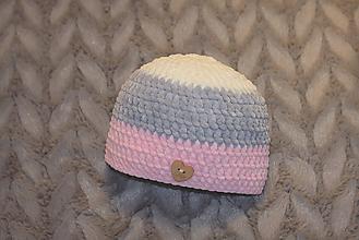 Detské čiapky - čiapočka - 10177185_