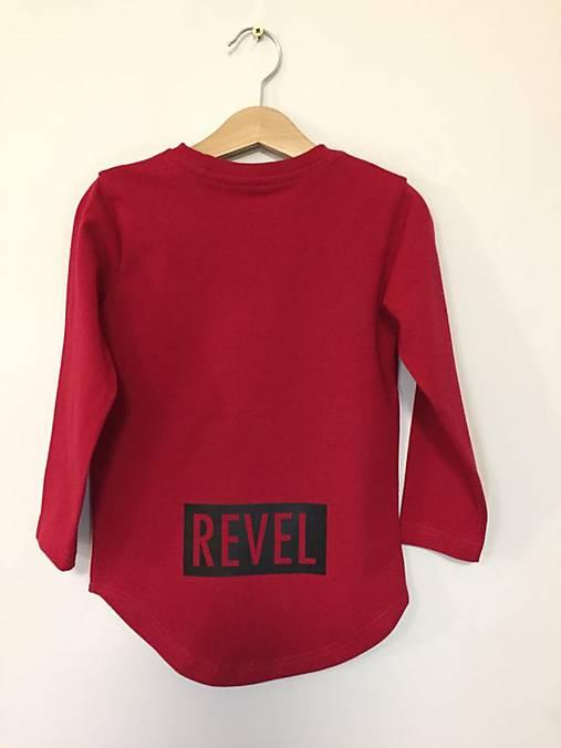 Predĺžené tričko - Revel (128)