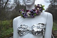 Ozdoby do vlasov - Kvetinový venček Mysterons - 10173989_