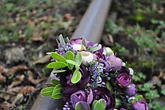 Ozdoby do vlasov - Kvetinový venček Mysterons - 10173990_