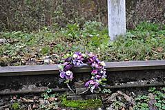 Ozdoby do vlasov - Kvetinový venček Mysterons - 10173991_