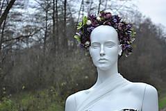 Ozdoby do vlasov - Kvetinový venček Mysterons - 10173992_