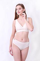Bielizeň/Plavky - Športová podprsenka z bio bavlny - 10177092_