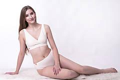 Bielizeň/Plavky - Športová podprsenka z bio bavlny - 10177095_