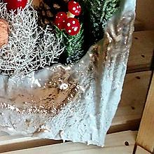Dekorácie - Veselé Vianoce - aranžmán - 10176477_