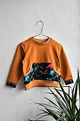 Detské oblečenie - Dino mikina v.86 - 10178353_