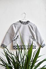 Detské oblečenie - Mikina v sivej v.86 - 10178567_