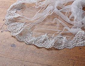 Iné oblečenie - Svadobné pončo s krajkou - 10177722_