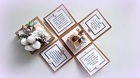 Papiernictvo - Najkrajší darček je náš čas... - 10175422_
